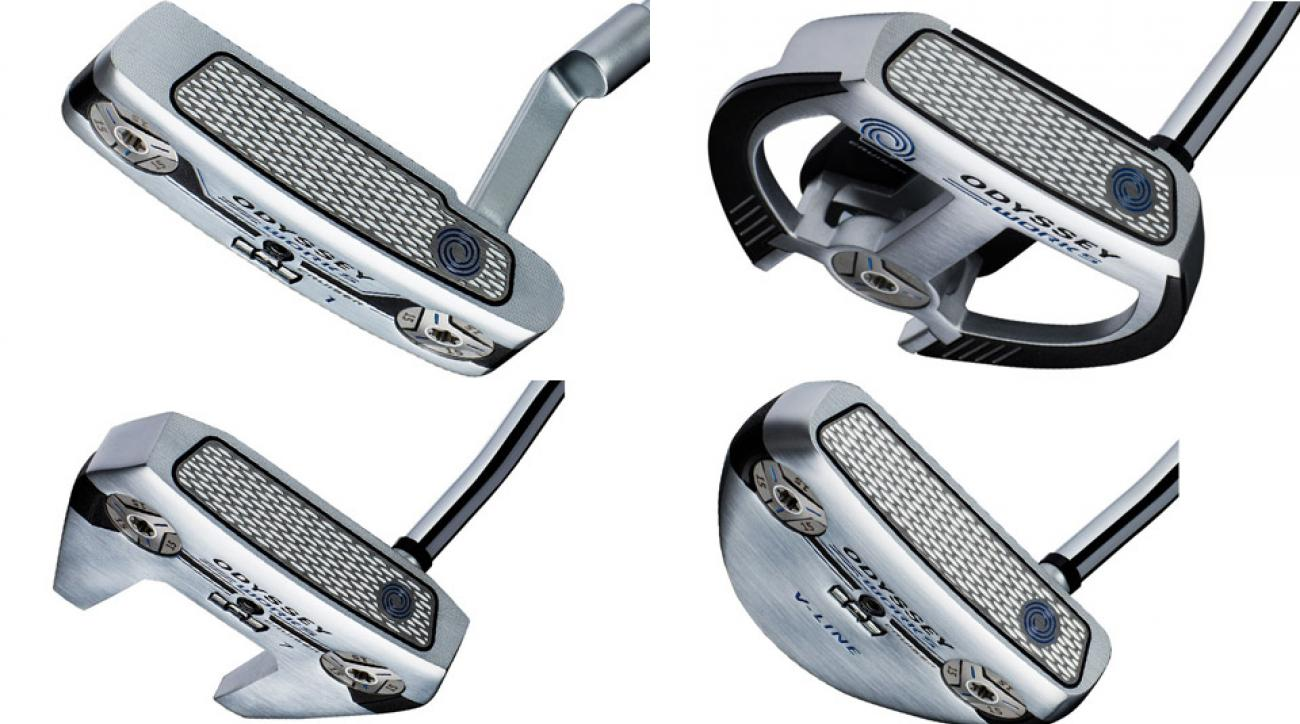 Clockwise from top left: Odyssey Works Tank Cruiser #1; 2-Ball Fang; #7; V-Line