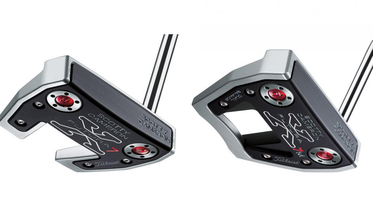 From left: Scotty Cameron Futura X7 Putter; Scotty Cameron Futura X7M Putter