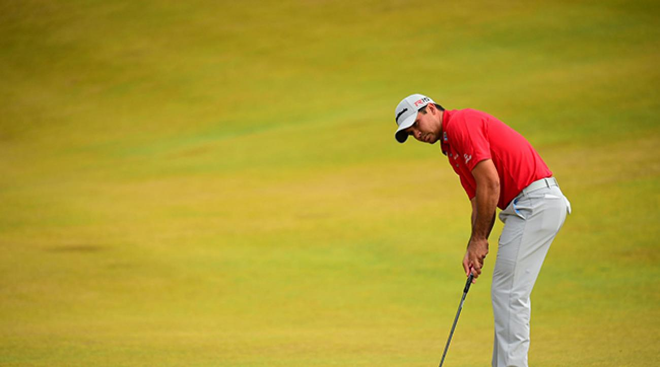 Jason Day at the 2015 U.S. Open at Chambers Bay.