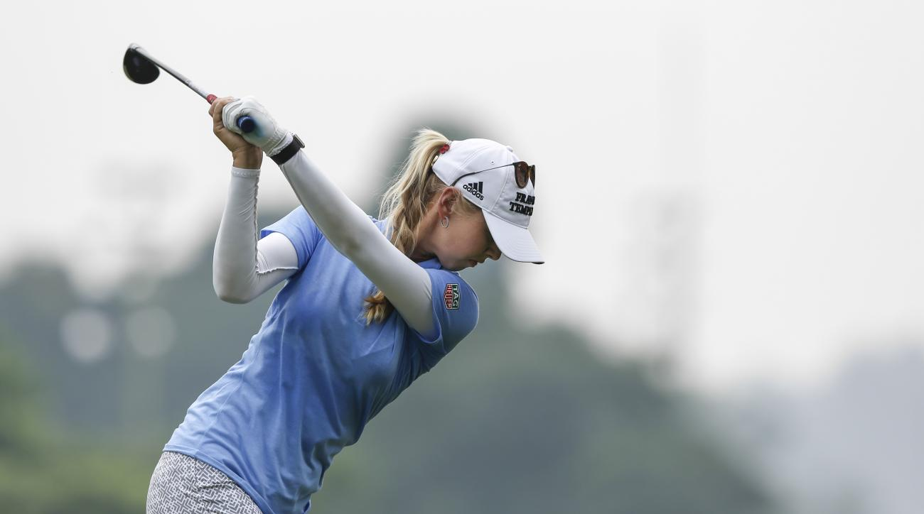 Use this tips from LPGA pro Jessica Korda to rip your driver by using your body's natural positioning.
