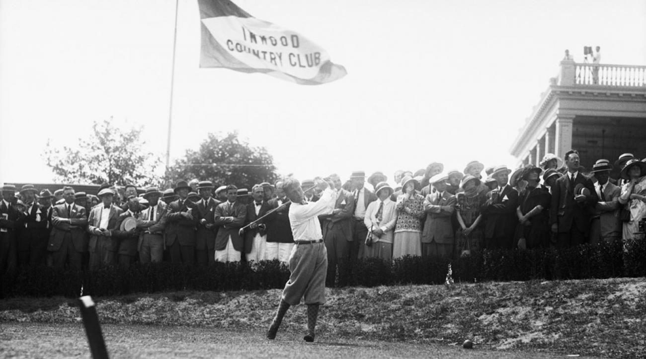 Bobby Jones during the 1923 U.S. Open.