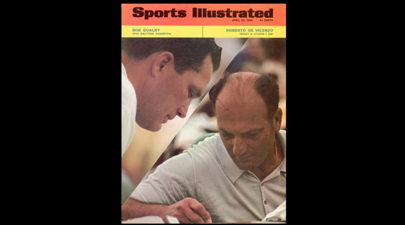 The cover of Sports Illustrated following the 1968 Masters.