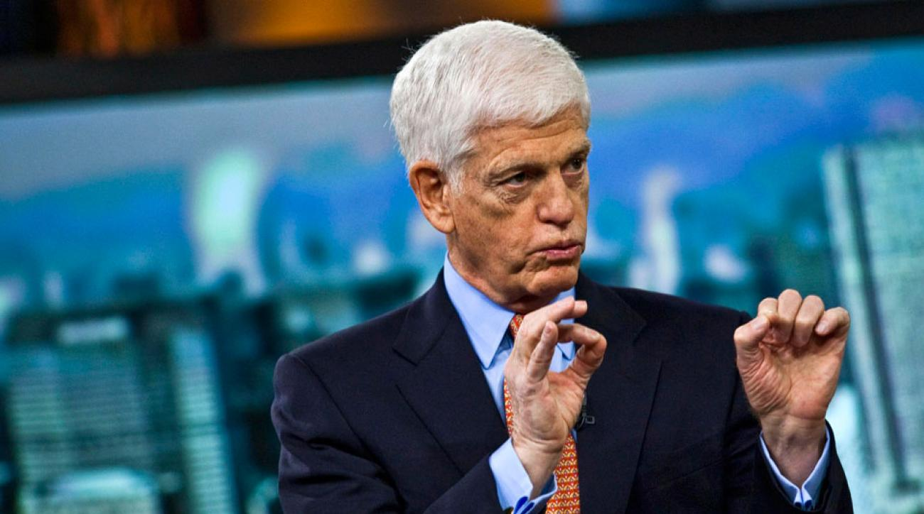 Mario Gabelli, chairman and chief executive officer of Gamco Investors Inc., speaks during a Bloomberg Television interview in New York, U.S., on Thursday, March 31, 2011.
