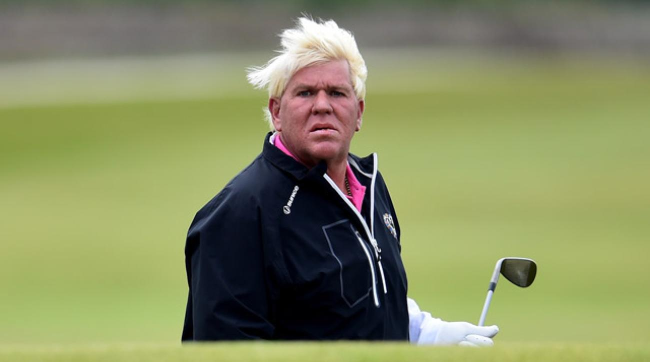 Two-time major winner John Daly is expected to make his senior tour debut in May.