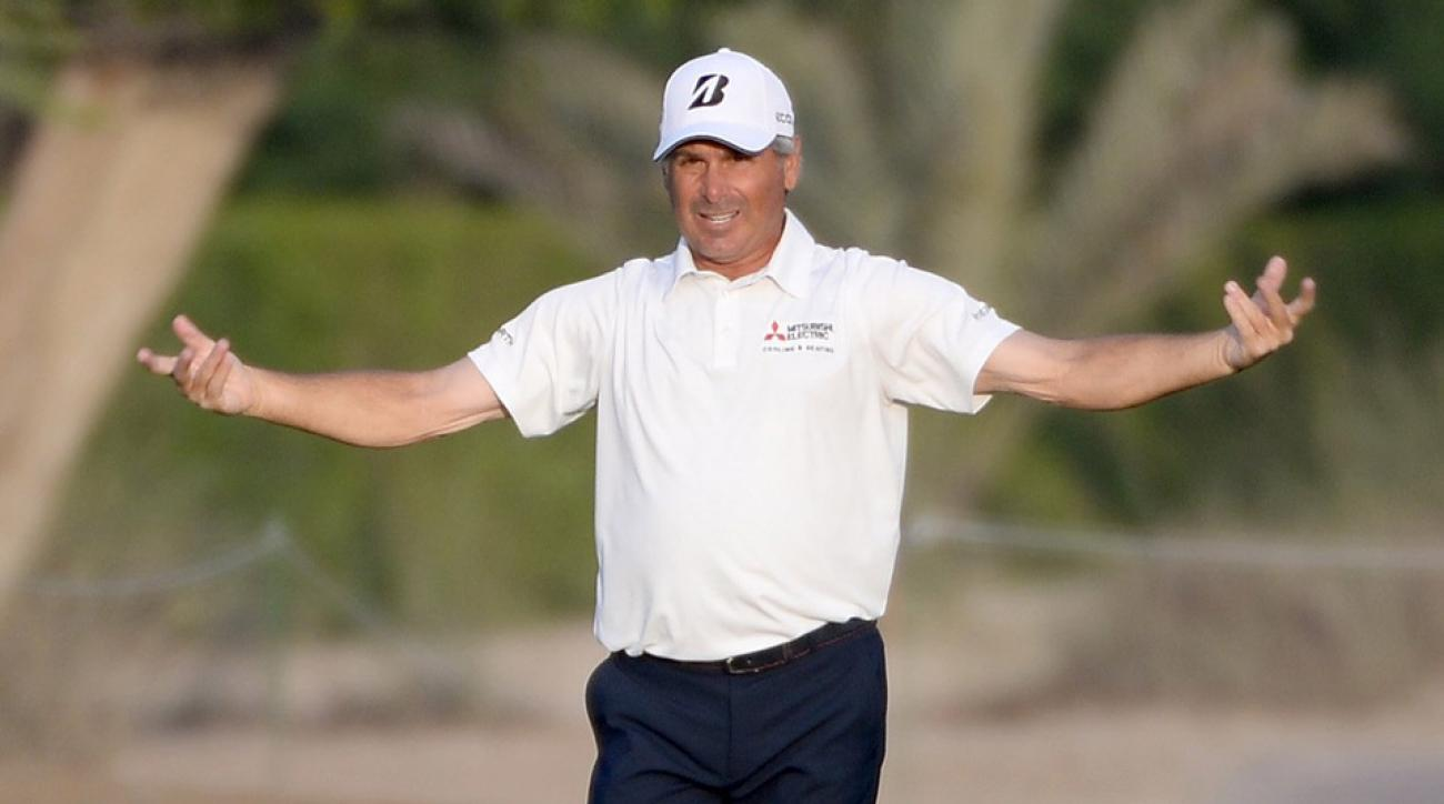 Fred Couples won only one major.