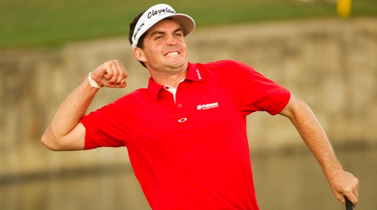Keegan Bradley during his PGA Championship victory.