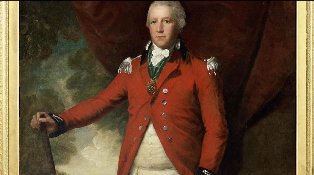 Royal Blackheath Golf Club's portrait of Henry Callender.