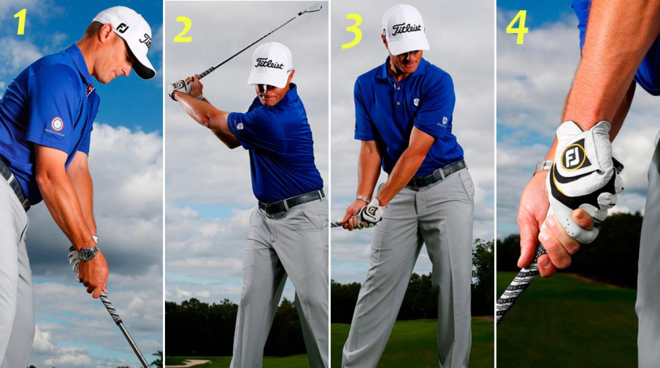 Refer to these photos of Top 100 Teacher Mark Blackburn to visualize the tip.