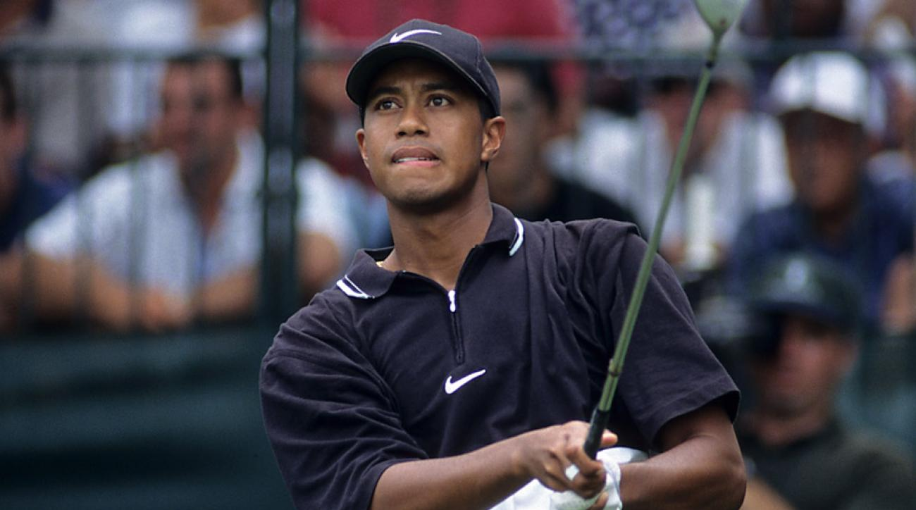 Tiger Woods at the 1997 PGA Championship.