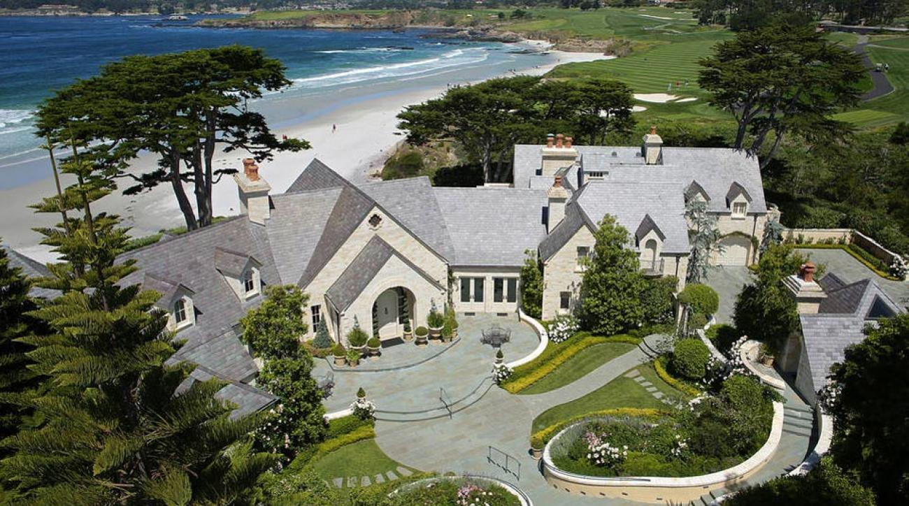 The home at Pebble Beach that was recently sold.