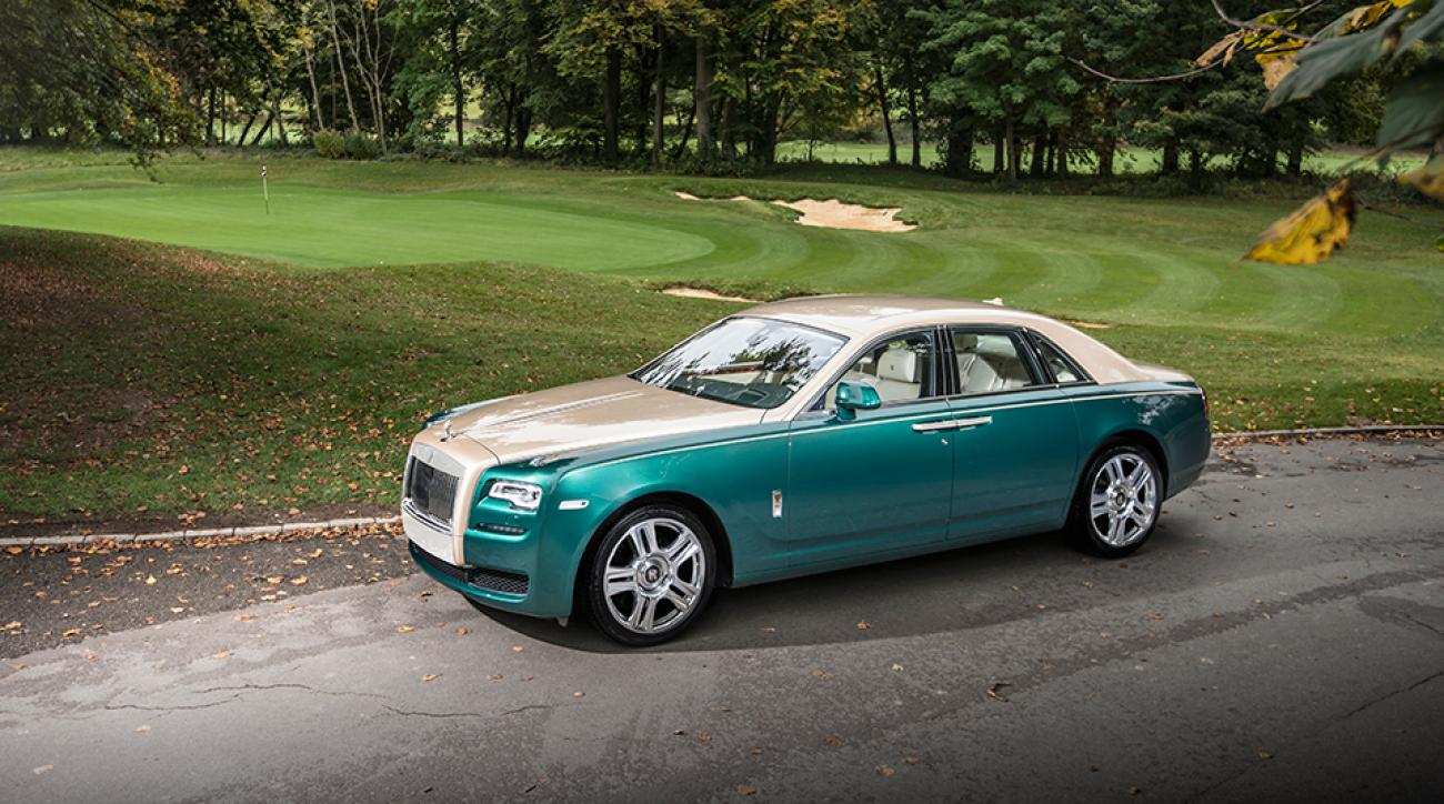 The Rolls-Royce Ghost Golf edition is literally one-of-a-kind.