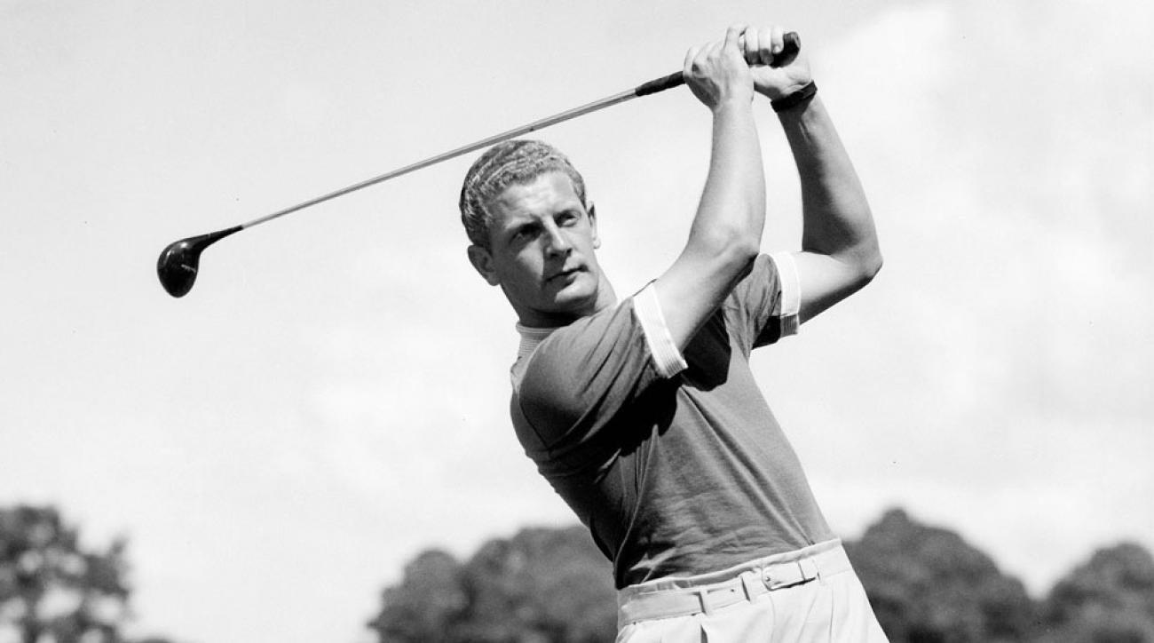 """Al """"Bessie"""" Besselink pictured here in 1951 from the Augusta National Archive."""