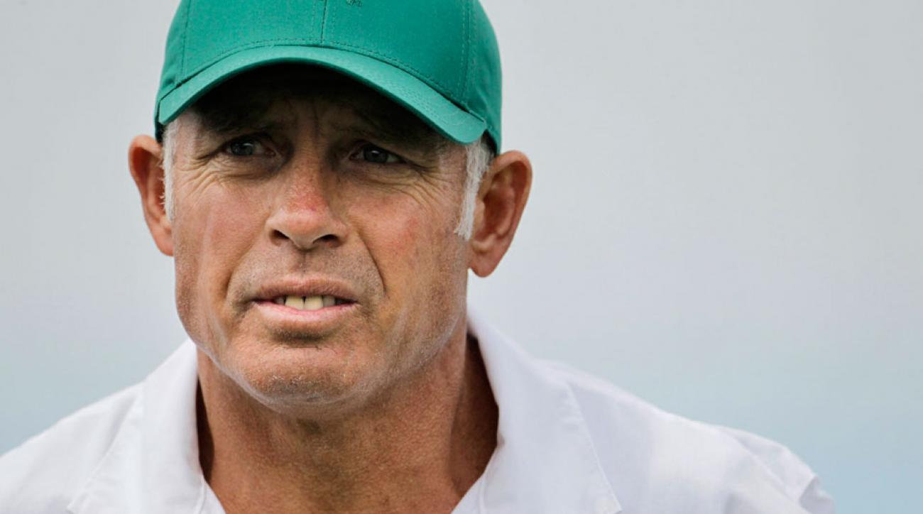 Steve Williams carried Tiger Woods' bag before working with Adam Scott.