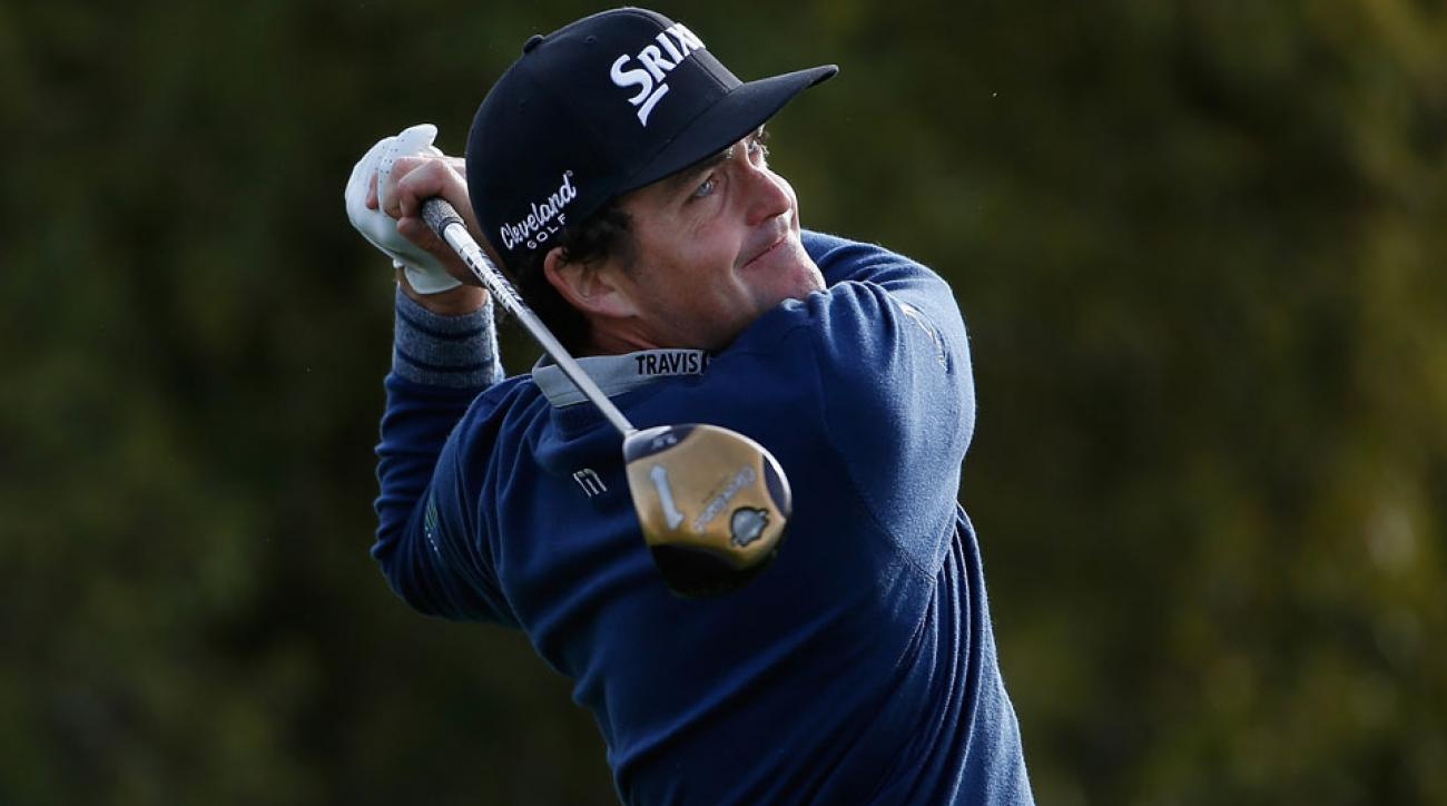 Keegan Bradley shot 3-under Thursday at the Waste Management Phoenix Open, but it could have been better if not for a 2-stroke penalty for playing the first hole with 15 clubs.