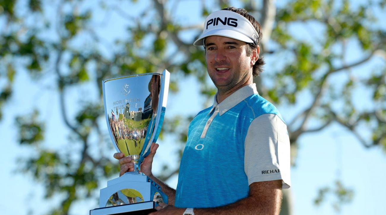 Bubba Watson won his ninth career PGA Tour event. It was his second career victory at the Northern Trust Open.