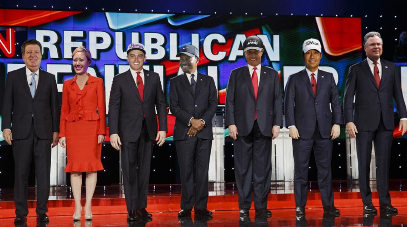 This campaign season, we're picking the golfers we'd love to see at the presidential podium.