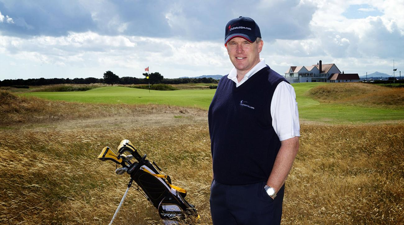 Tony Judge co-founded Clubs to Hire in Europe to help golfers rent high-end clubs when they travel.