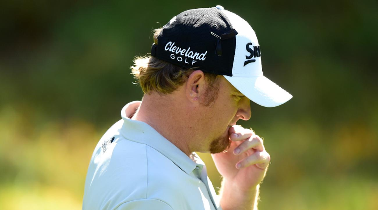 """J.B. Holmes committed a """"serious breach"""" of the rules on Sunday at Doral."""