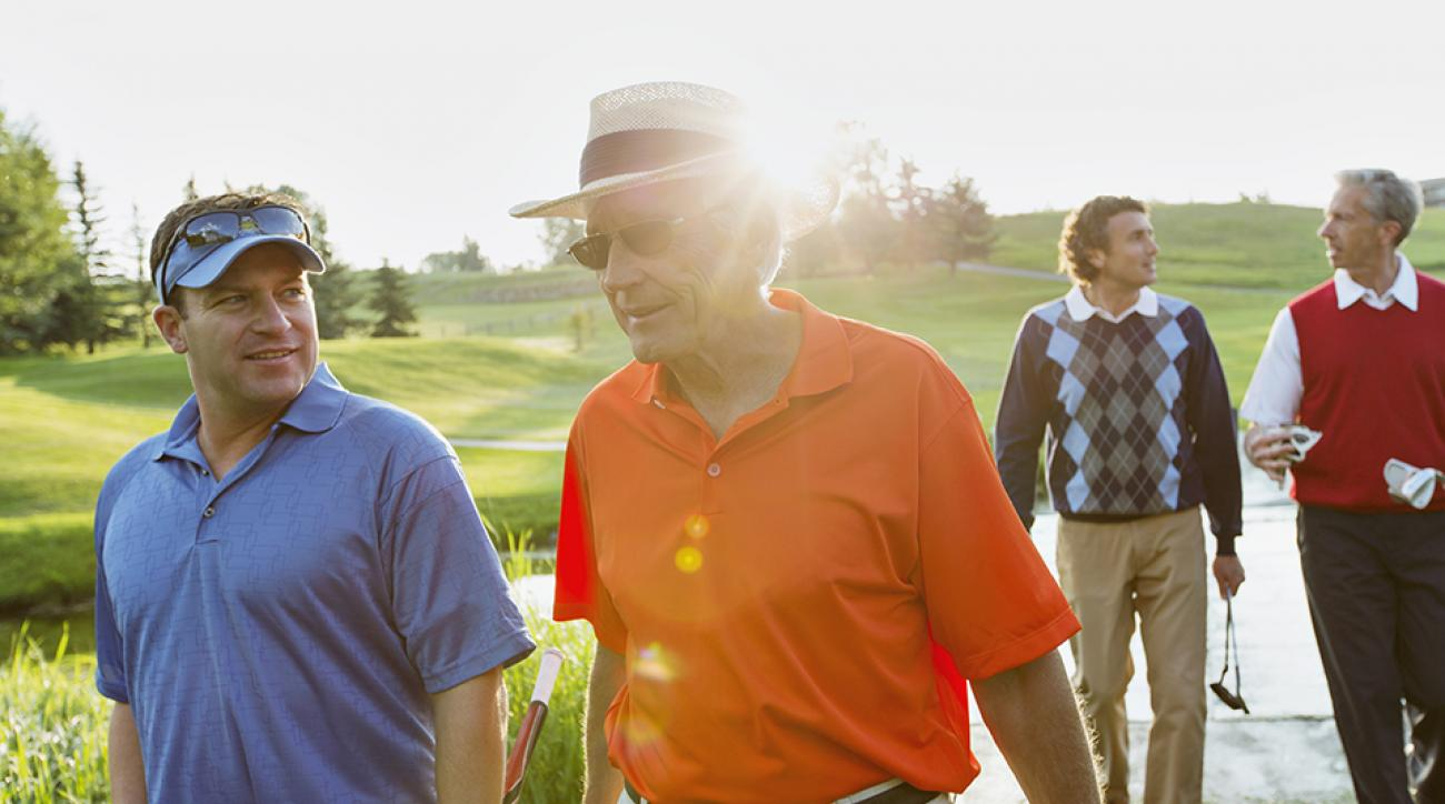 More golfers with sun-damaged skin are turning towards cosmetic surgery to turn back the clock on wrinkles.