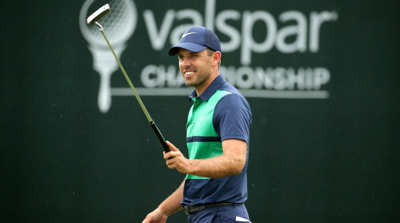 Charl Schwartzel with his Nike putter Sunday at the 2016 Valspar Championship.
