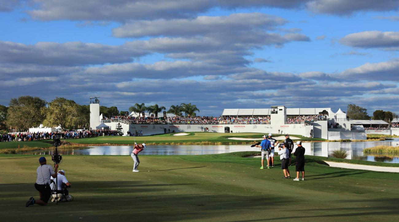 PGA National's Champion course during the 2016 Honda Classic.
