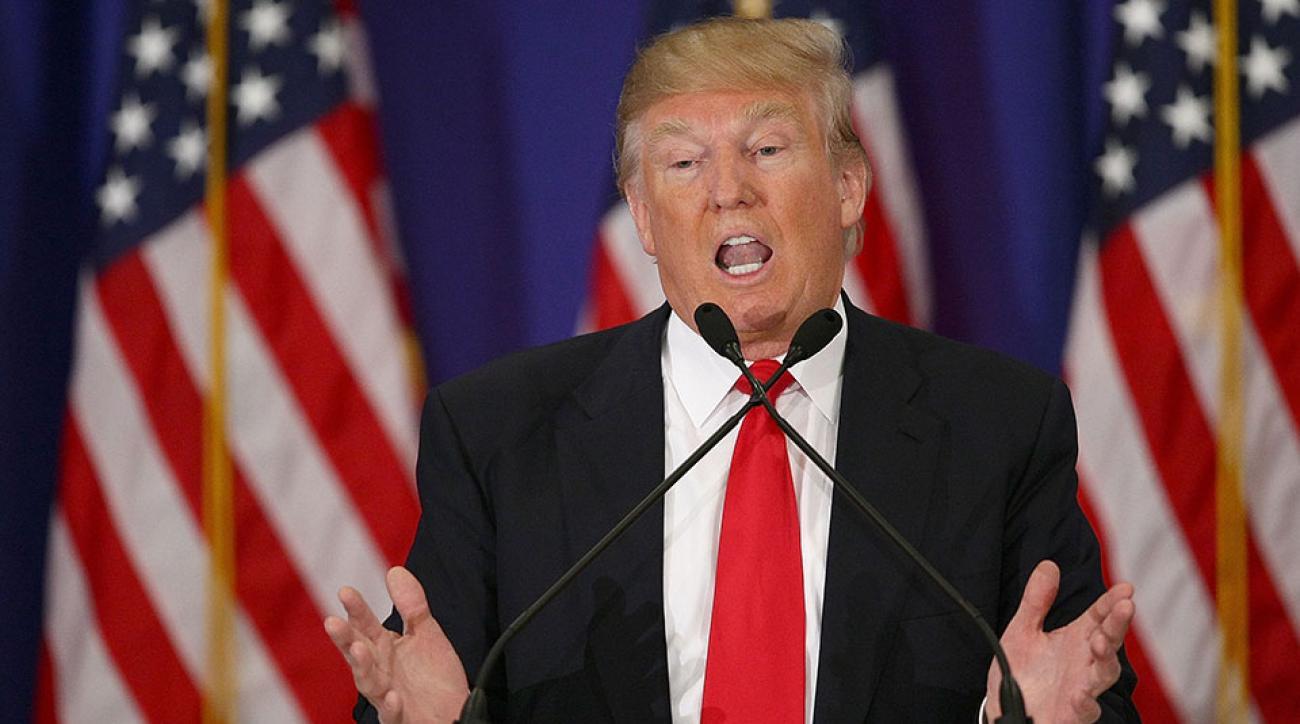 Donald Trump met Daniel Scavino as a 16-year-old caddie at a golf club in New York.