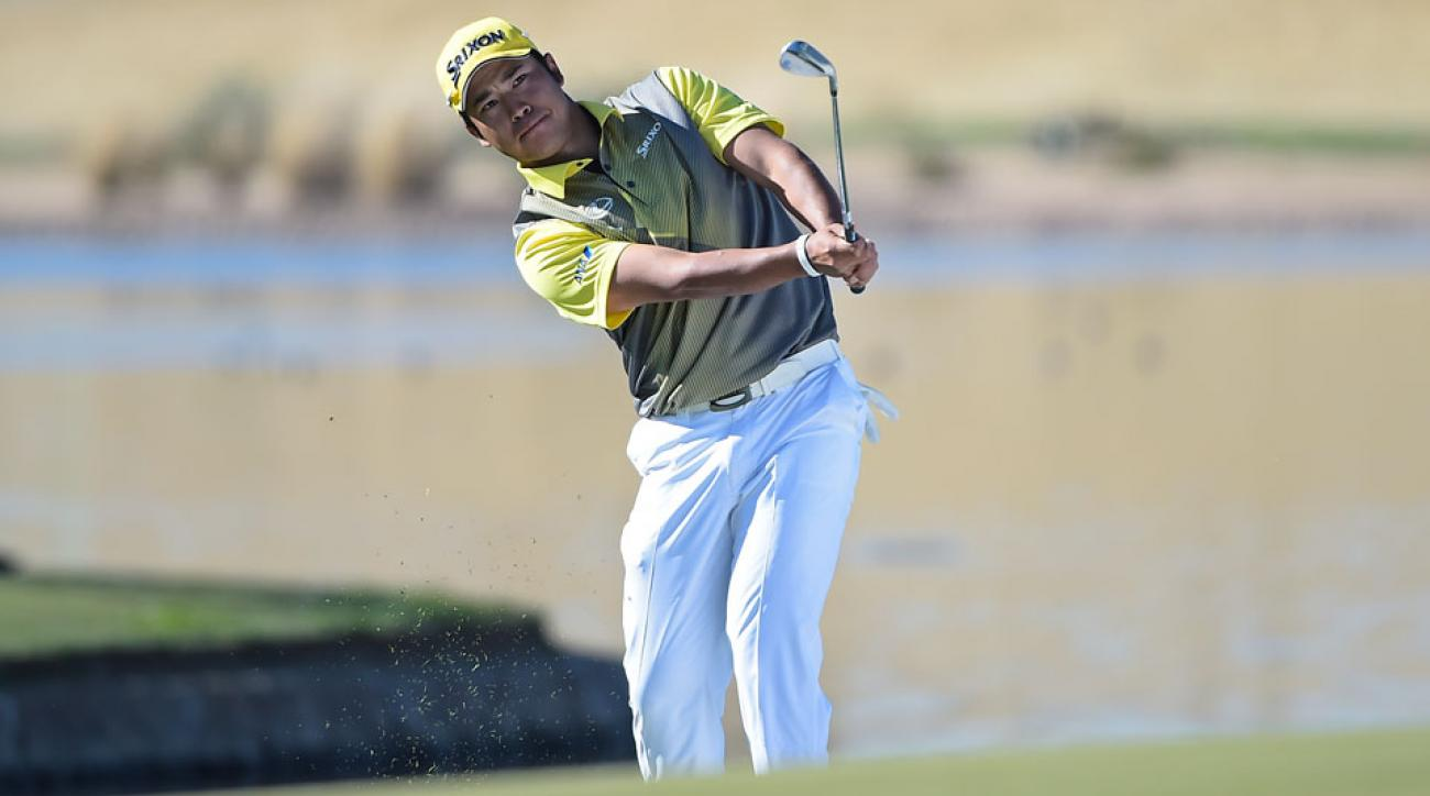 Hideki Matsuyama won the 2016 Waste Management Phoenix Open in a playoff over Rickie Fowler.