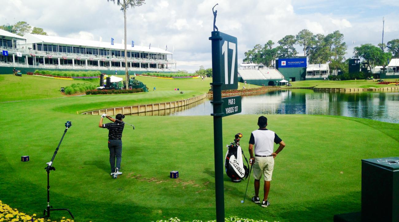 The PGA Tour can use virtual reality to bring fans to places like the iconic 17th hole at TPC Sawgrass.