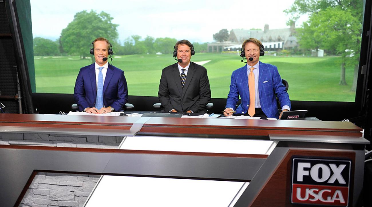 Fox's new U.S. Open dream team: Joe Buck, Paul Azinger and Brad Faxon.