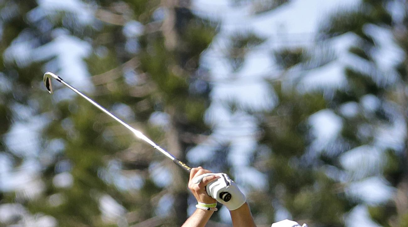 Jordan Spieth during the second round of the 2017 Tournament of Champions.