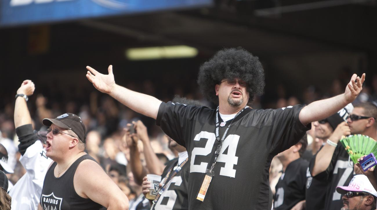 Raiders fans are angry