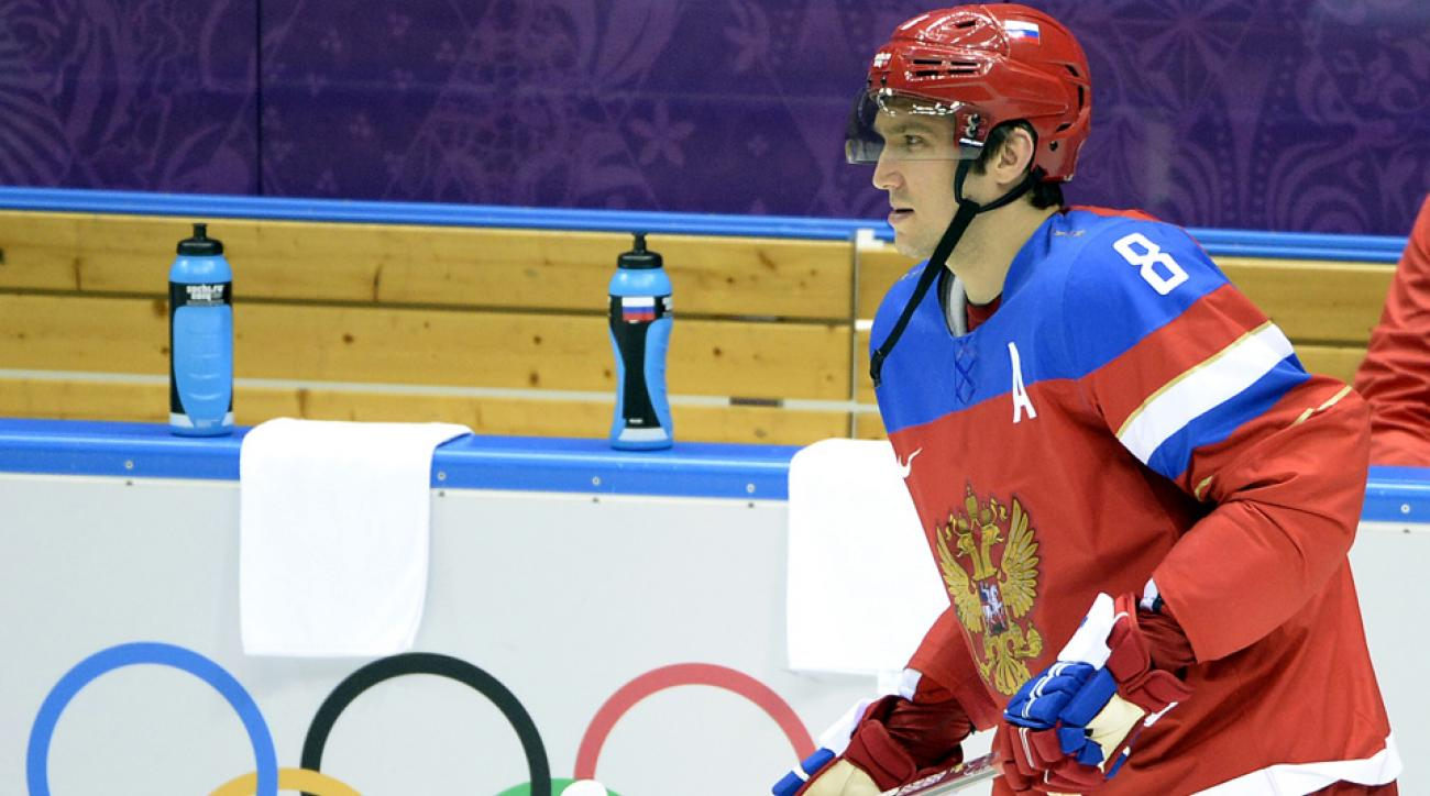 Russia forward Alexander Ovechkin previously vowed to skip an entire NHL season if the league did not allow its players to compete in Ovechkin's home country of Russia in 2014.