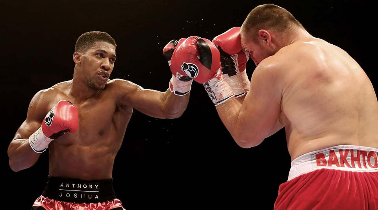 Anthony Joshua (left) could become one of the brightest stars in boxing.