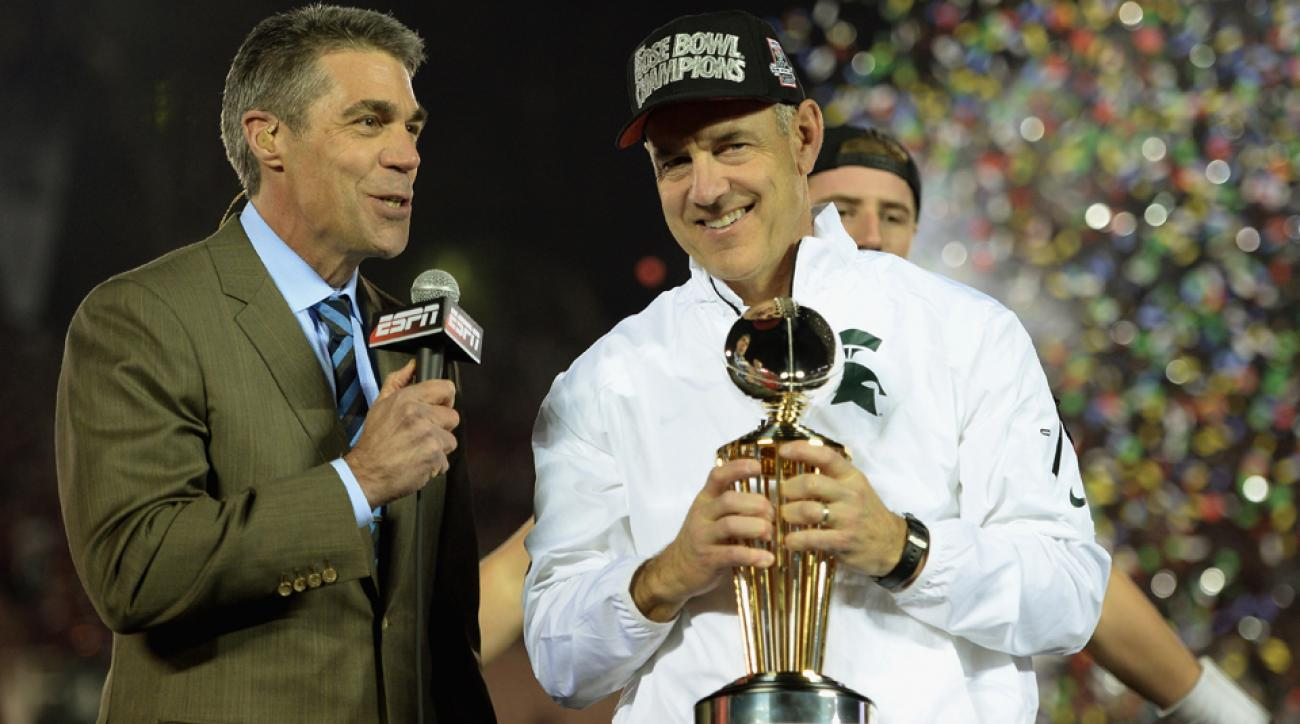 Chris Fowler will replace Brent Musburger on broadcasts of Saturday Night Football with Kirk Herbstreit.