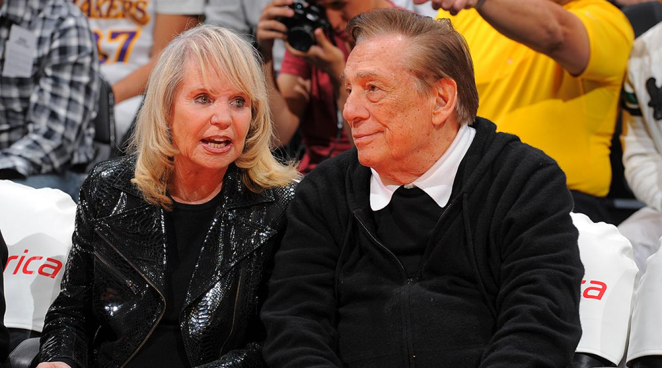 Shelly Sterling negotiated the sale of the L.A. Clippers, but estranged husband Donald has attempted to  block the sale.