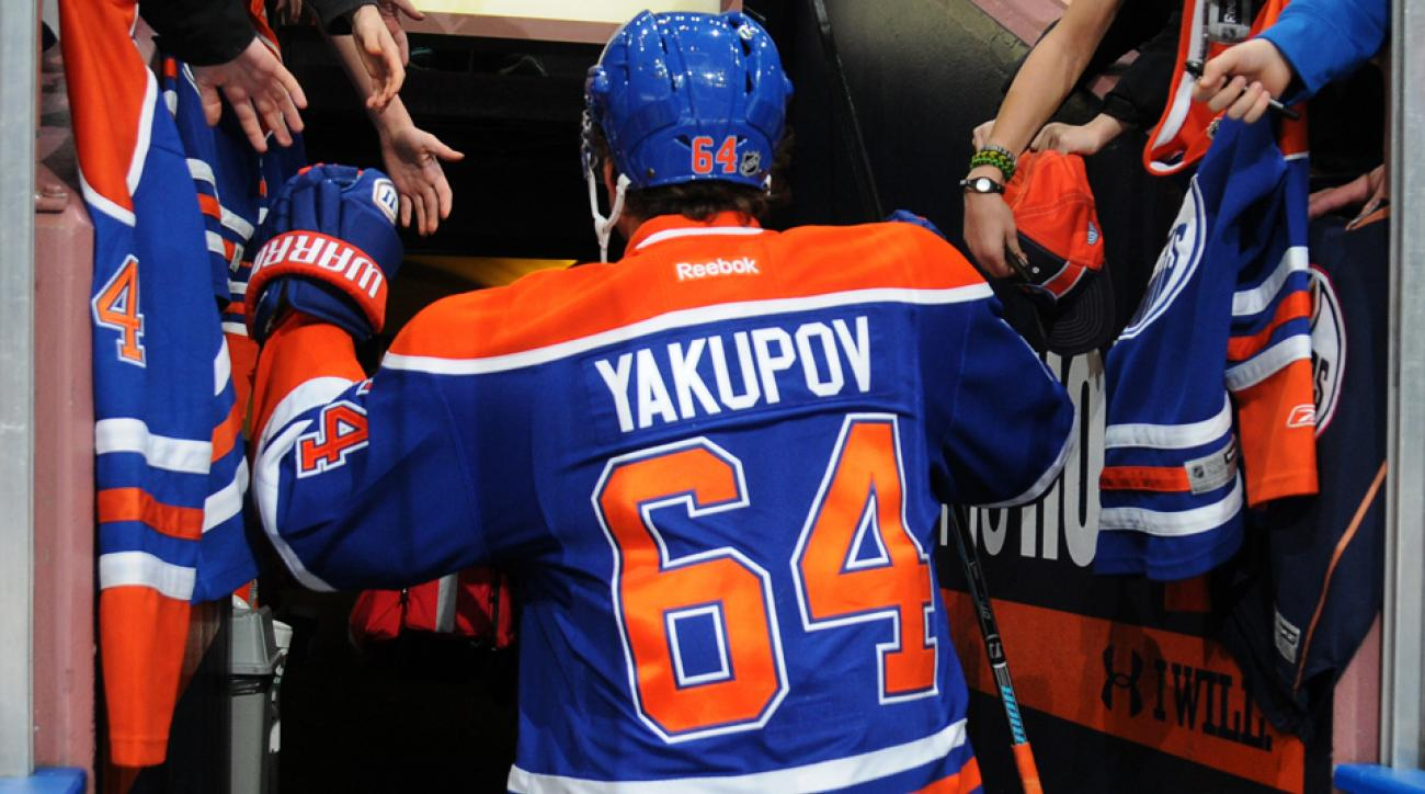 Nail Yakupov was supposed to help lead the Oilers back to the playoffs, but he may be leaving instead.