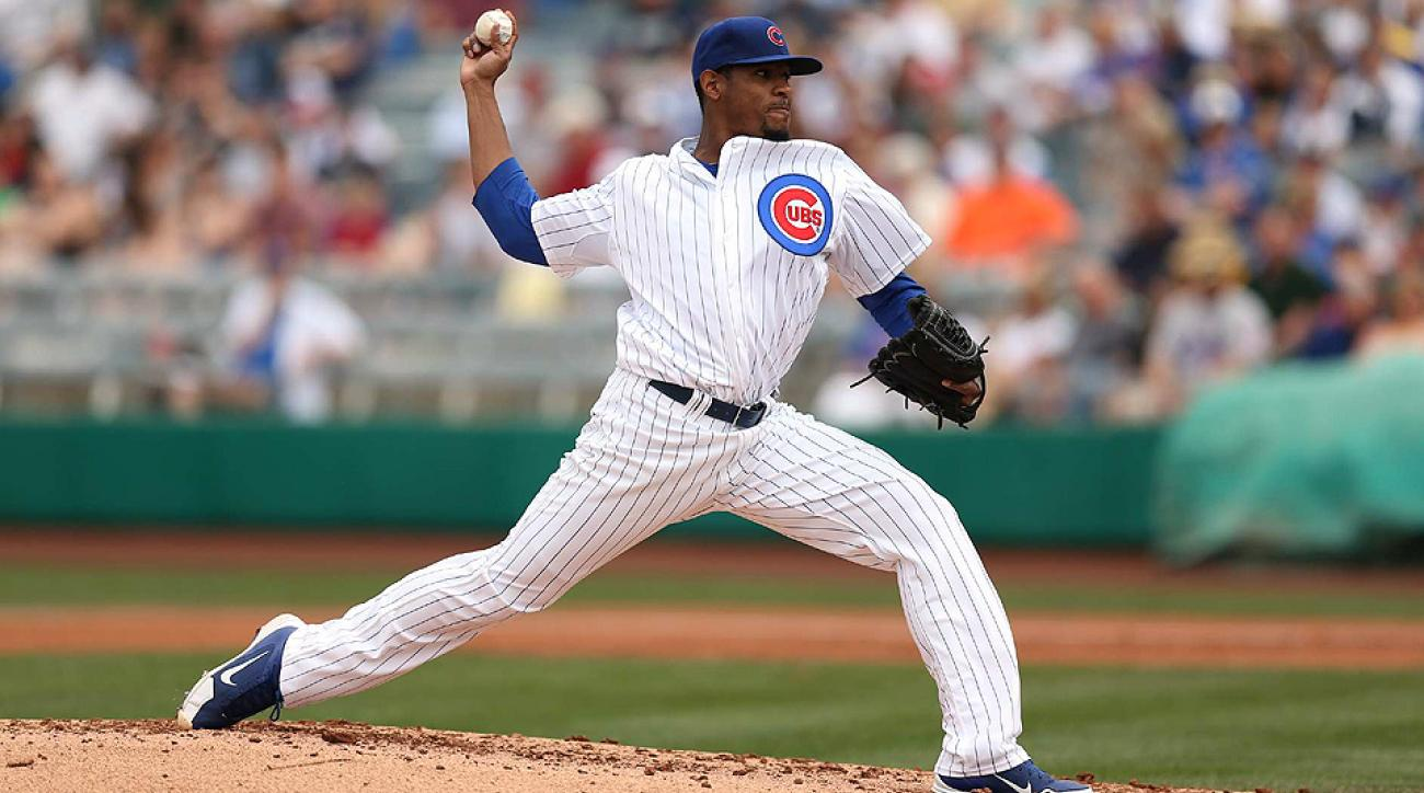 Edwin Jackson's strikeout rate makes him a serious option to consider in your fantasy matchup this weekend.