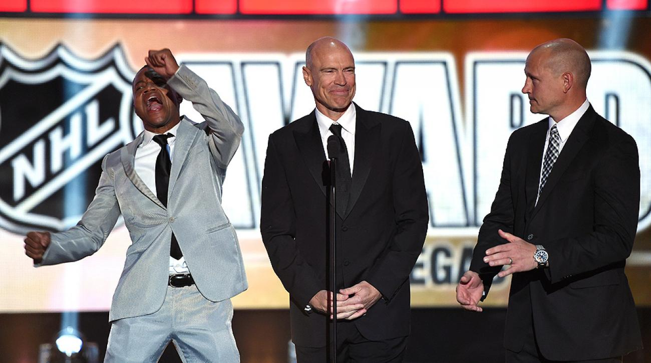 Cuba Gooding Jr. was a bright spot in an otherwise straight-laced night in Vegas at the NHL Awards.