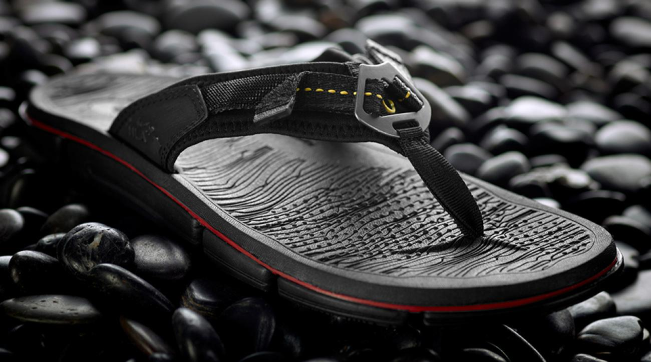 Designed specially for Hawaiian lifeguards, Olukai's new Holomua gives shoe-like performance in a sandal.