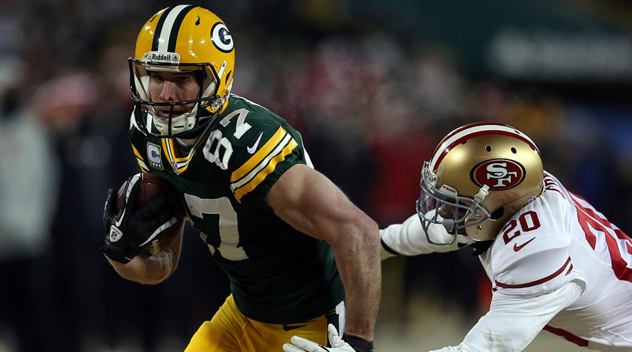 Jordy Nelson caught 85 passes for 1,314 yards and eight touchdowns in 2013.