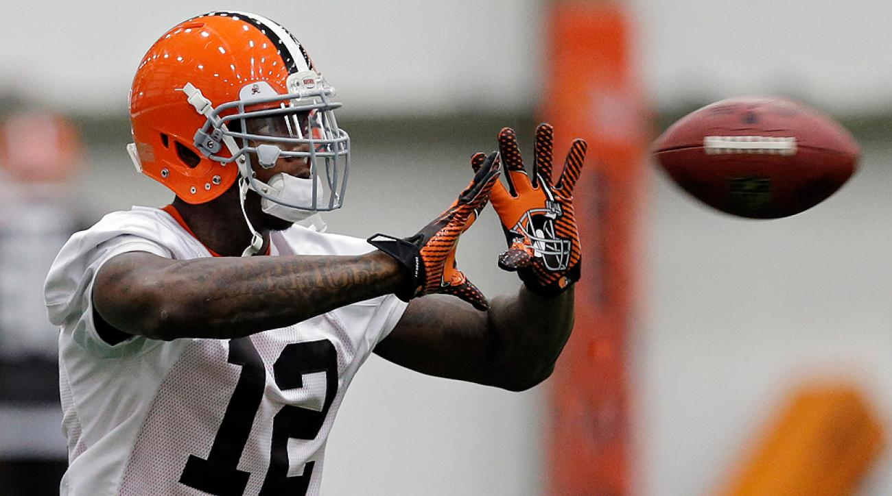 Catching footballs? That's the least of Josh Gordon's worries at this point.