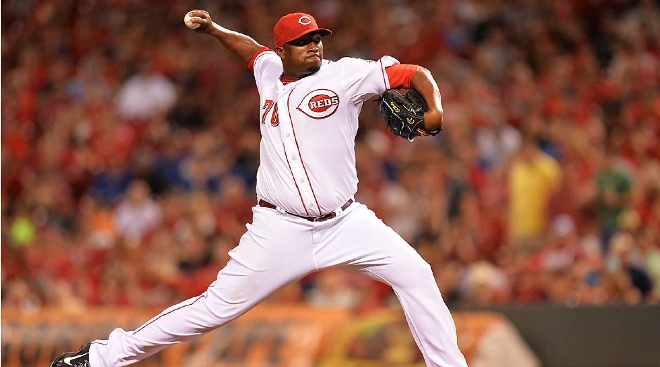 Jose 'Jumbo' Diaz was one of the final cuts from the Reds' roster in spring training.