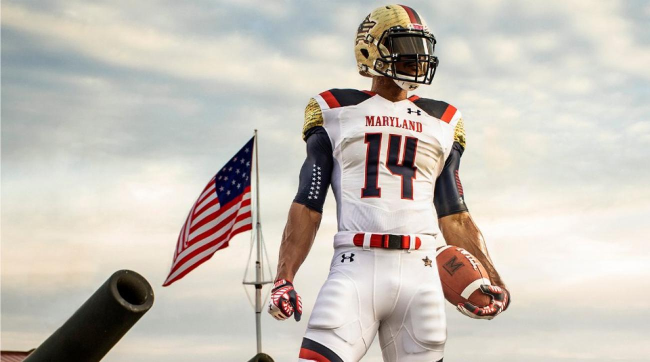 Maryland Terrapins football unveils the most patriotic ... | 1300 x 724 jpeg 81kB