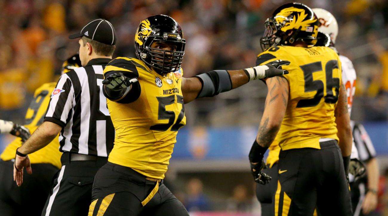 Before he became a star at Missouri, Michael Sam grew up in Hitchcock, Texas, just outside of Houston.