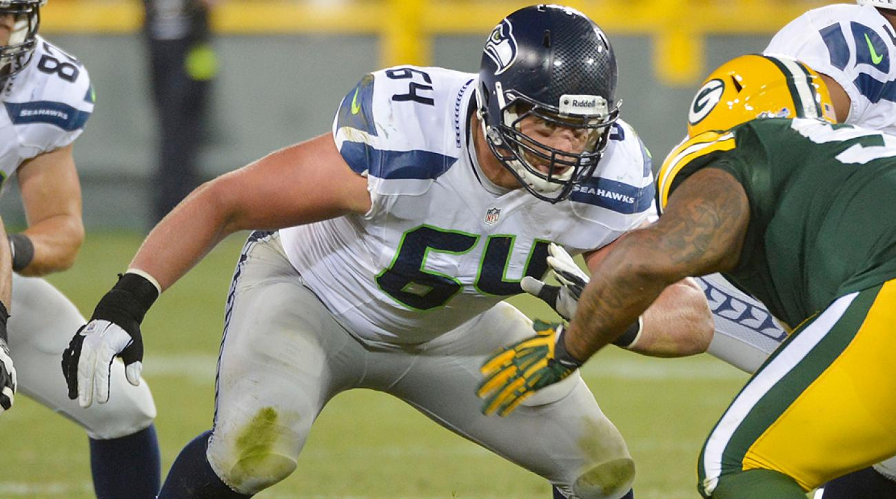 Seahawks guard J.R. Sweezy has made major improvements in 2014.