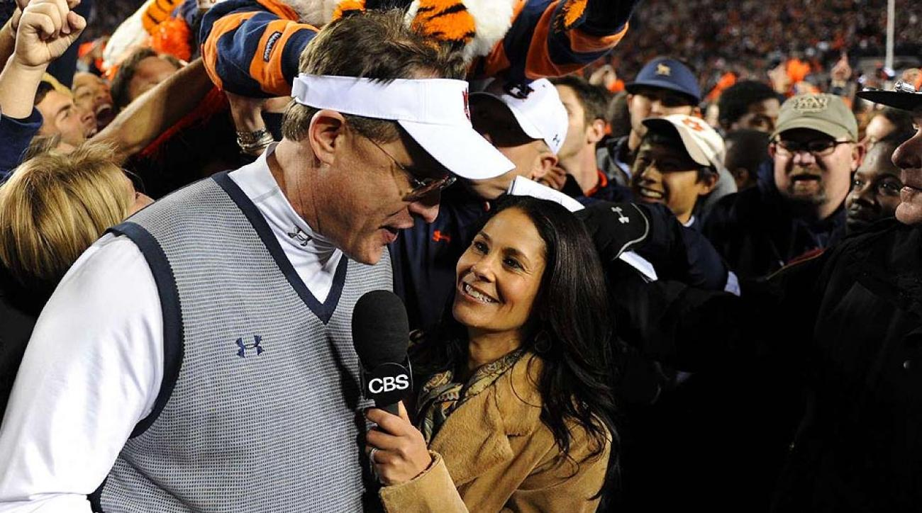 Tracy Wolfson has been a part of some of college football's more iconic games in recent memory covering the SEC for CBS.