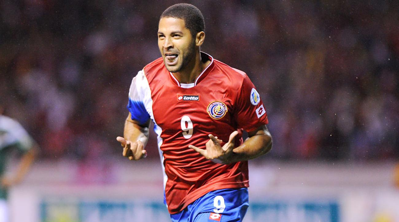 Costa Rica and Real Salt Lake forward Alvaro Saborio will miss the World Cup after fracturing a bone in his foot Thursday.