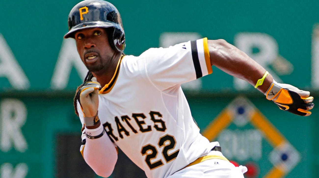 Andrew McCutchen is currently fifth in the National League in batting average (.316), second in on-base percentage (.415) and second in OPS+ (169).