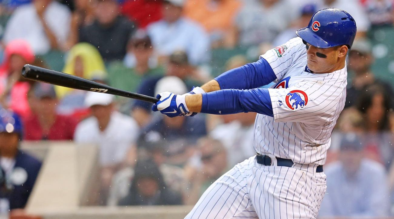 Anthony Rizzo nailed three home runs in three games against the Arizona Diamondbacks after the All-Star break.