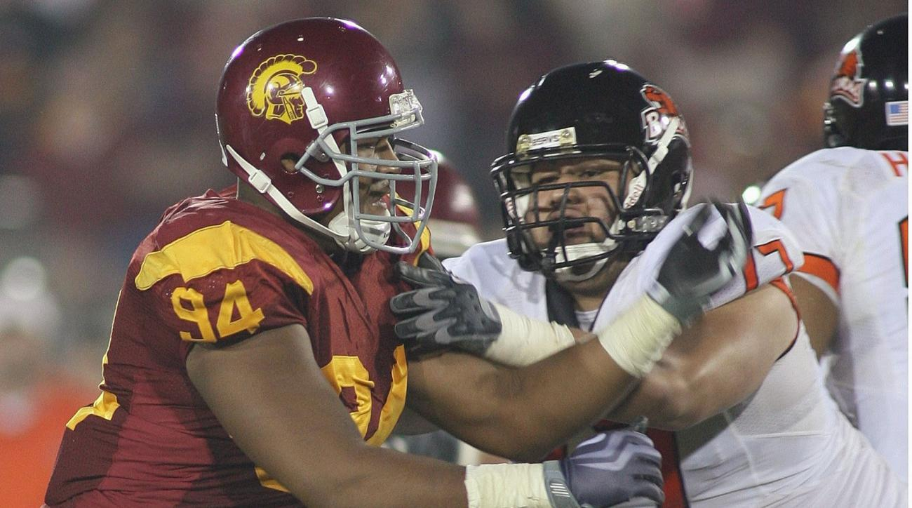 Armond Armstead was a force at USC before he suffered a heart attack in March 2011.